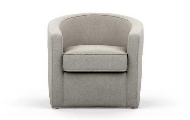 Alice by Alison Victoria Chairs in Dune Fabric - Interior Define