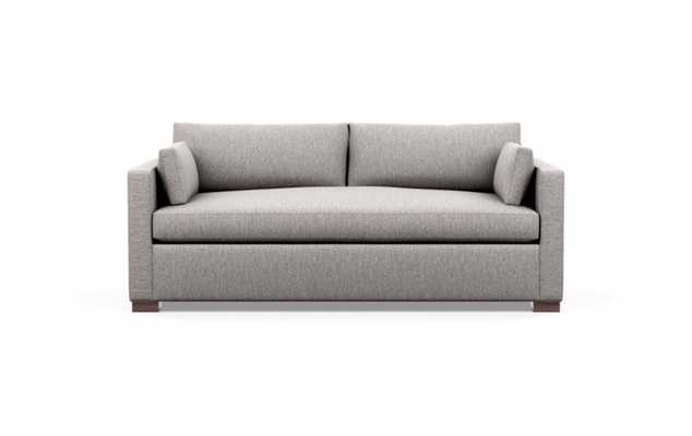 Charly Sofa in Earth Fabric with Oiled Walnut legs - Interior Define