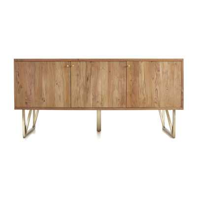 Hayes Acacia Sideboard - Crate and Barrel