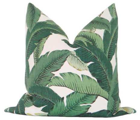 "Palm Leaf Print - 18"" X 18"" - Little Design Company"