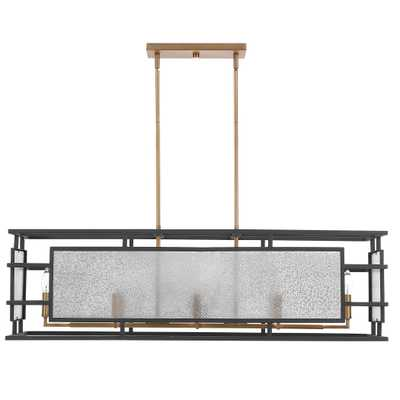Holmes 8 Light  Linear Chandelier - Hudsonhill Foundry