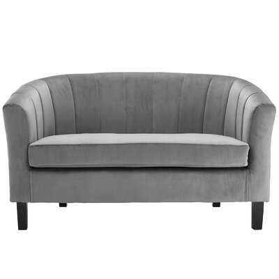 "Wilbur 50"" Round Arms Loveseat - Wayfair"
