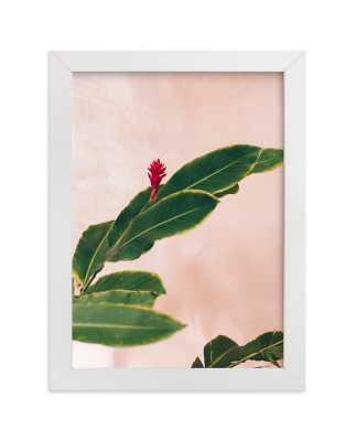 Pink Hawaiian Art Print - Minted