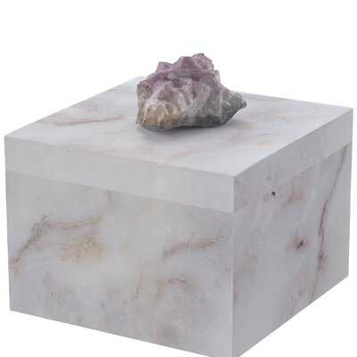 Barling Natural Geode and Composite Decorative Box - Birch Lane