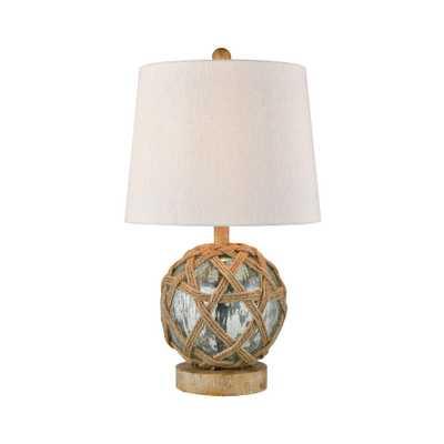 Titan Lighting Crosswick Table Lamp - Home Depot