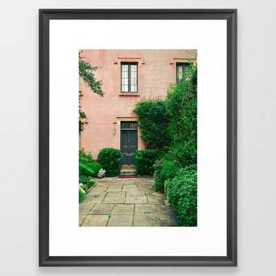 The Rectory Framed Art Print by Olivia Joy St.claire - Cozy Home Decor, - Scoop Black - MEDIUM (Gallery)-20x26 - Society6