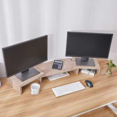 Bianchini Large Monitor Stand - Wayfair
