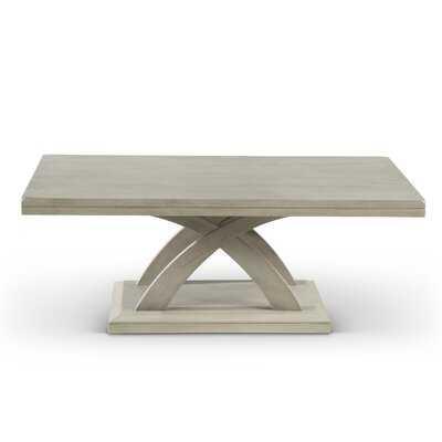 Claycomb Cross Legs Coffee Table - Wayfair
