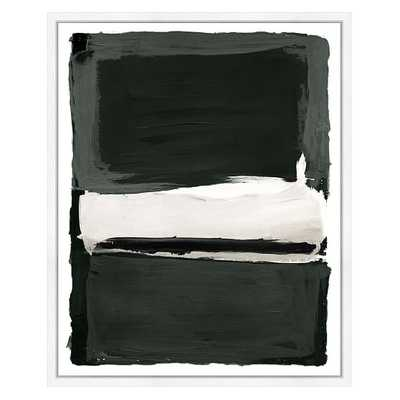 Gray Spaces 2 Wall Art, Small - West Elm