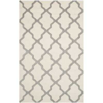 Whitchurch Hand-Tufted Wool Ivory Area Rug - Wayfair