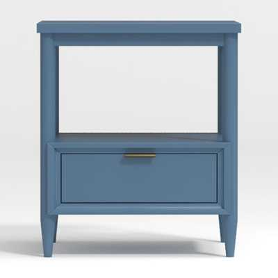 Kids Bodie Blue Nightstand - Crate and Barrel
