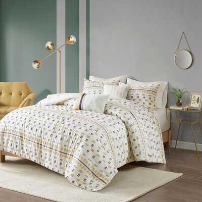 Theodosius Jacquard Comforter Set - AllModern