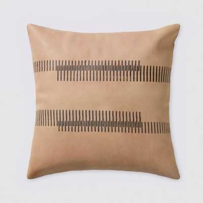 Amer Leather Pillow By The Citizenry - The Citizenry