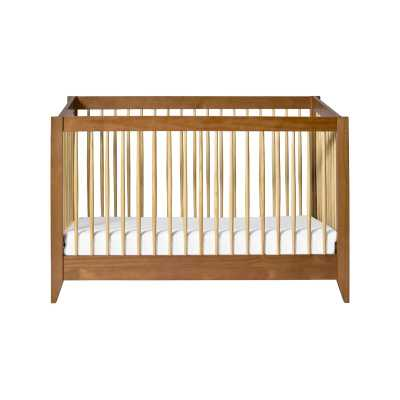 babyletto Sprout 4-in-1 Convertible Crib Color: Chestnut/Natural - Perigold