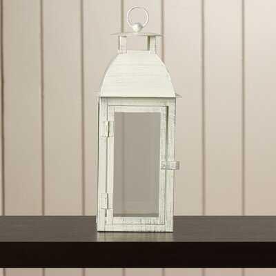 Berta Iron and Glass Lantern - Birch Lane