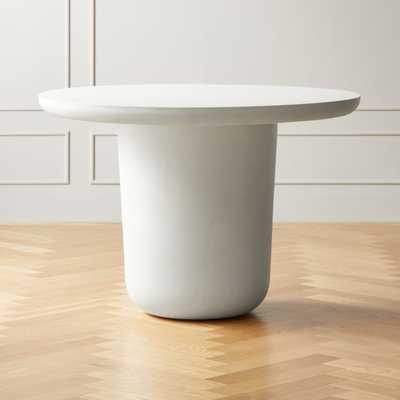 Lola Round Concrete Dining Table - CB2
