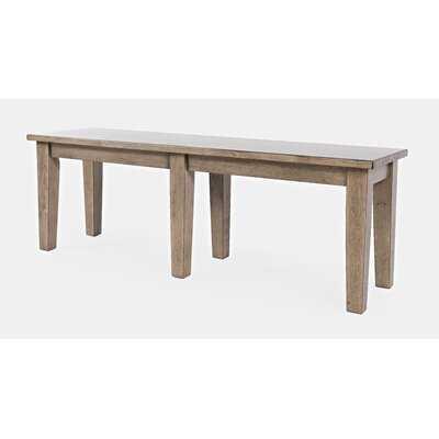 Blairmore Wood Bench - Wayfair