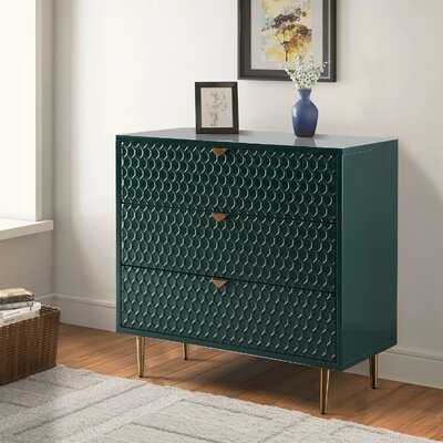 Velez 3 Drawer Accent Chest - Wayfair