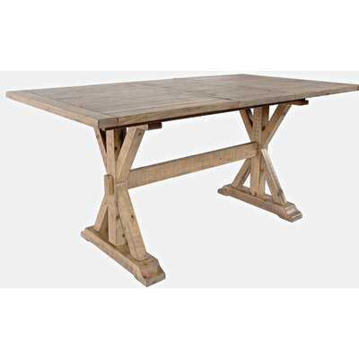 Bryon Counter Height Extendable Solid Wood Dining Table - Wayfair