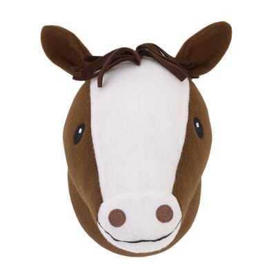 Plush Fleece Horse Head Faux Taxidermy - Wayfair