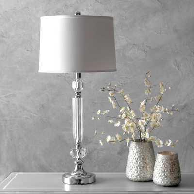 "Westerly 32"" Crystal Table Lamp - Loom 23"