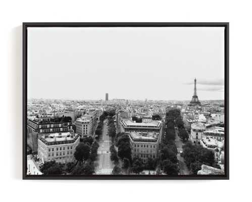 The Streets Of Paris Art Print - Minted