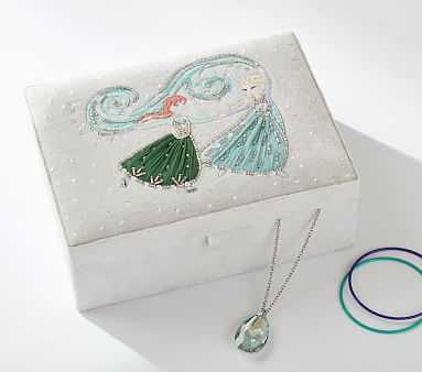 Disney Princess Jewelry Boxes, Anna & Elsa - Pottery Barn Kids