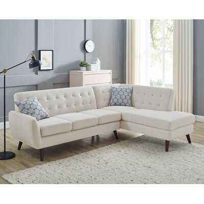 "Bram 98"" Wide Right Hand Facing Sofa & Chaise - Wayfair"