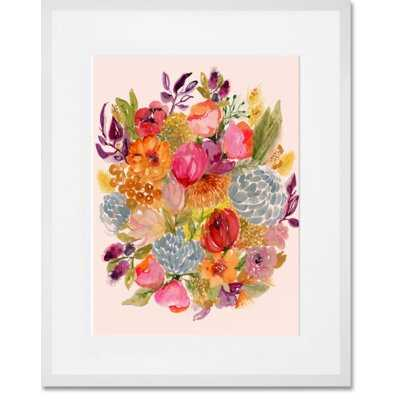 Succulent Bouquet IV by Shannon Newlin - Picture Frame Graphic Art Print on Paper - AllModern