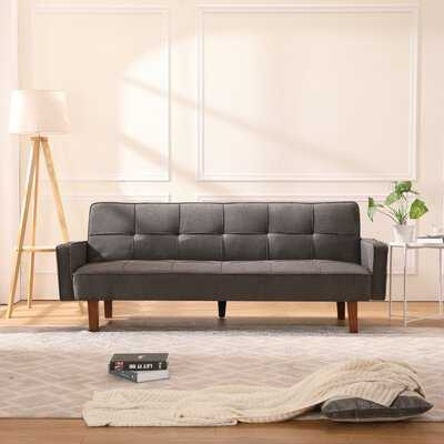 Love Seat Sofa For Living Room Sofa Sleeper Sofa Bed With 3 Position Reclining 2-Seat Modern Linen Fabric 75''L - Wayfair