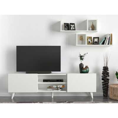 "Clarette TV Stand for TVs up to 65"" - Wayfair"
