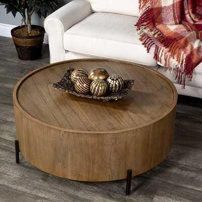 Hammitt Drum Coffee Table - Wayfair