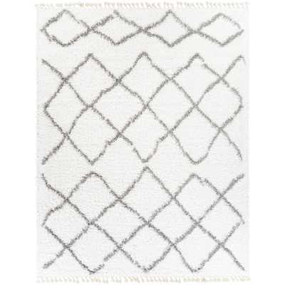 Artistic Weavers Antea White 7 ft. 10 in. x 10 ft. Moroccan Area Rug - Home Depot