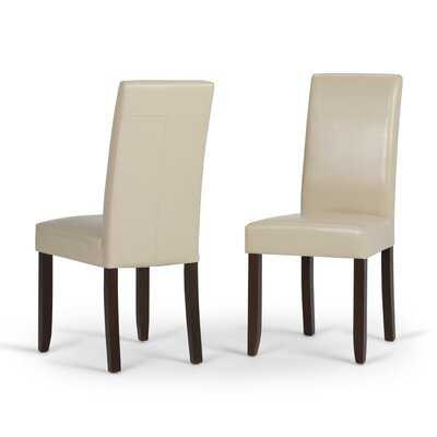 Abdul-Basit Upholstered Dining Chairs (Set of 2) - Wayfair
