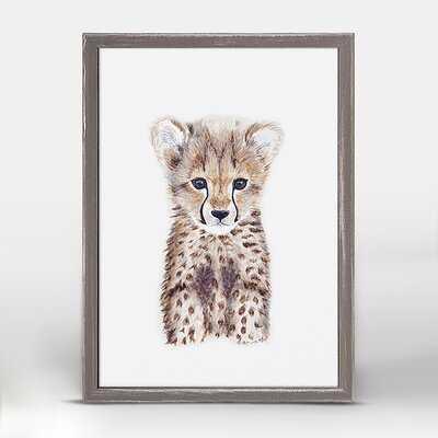 Brewton Cheetah Cub Portrait - Wayfair