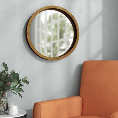 Meara Accent Mirror - Wayfair