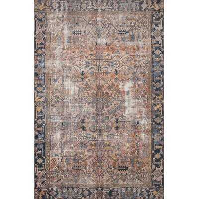 Jules Oriental Terracotta/Multi Area Rug - Wayfair