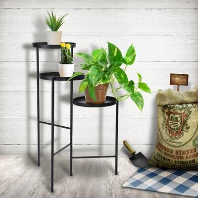 Dominikus Round Multi-tiered Plant Stand - Wayfair