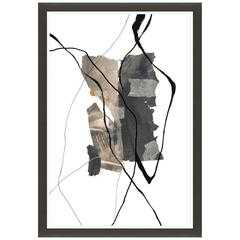 Descent of Shapes IV Framed - High Fashion Home
