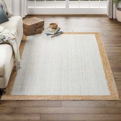 Oberon White/Beige Area Rug - Birch Lane