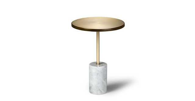 Narro Brass Side Table - Article