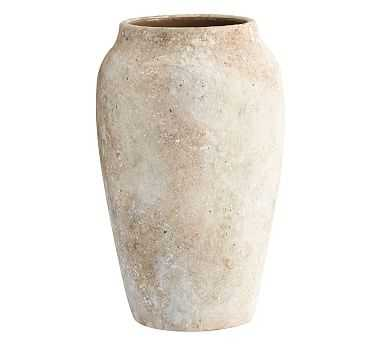 Artisan Vase, Natural - Medium - Pottery Barn