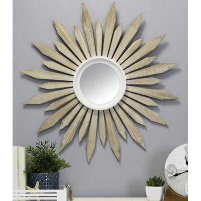 Dabachi Wood Starburst Eclectic Accent Mirror - Wayfair