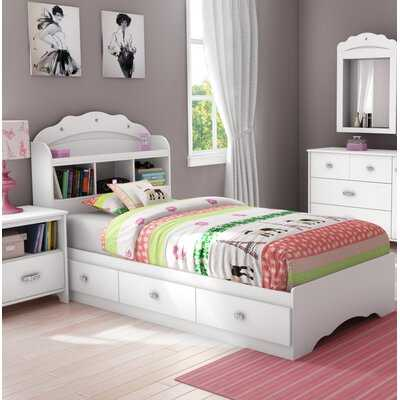 Tiara Twin Mate's & Captain's Bed with Drawers - Wayfair