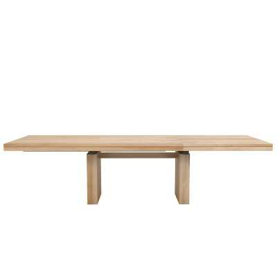 Ethnicraft Extendable Solid Wood Dining Table - Perigold
