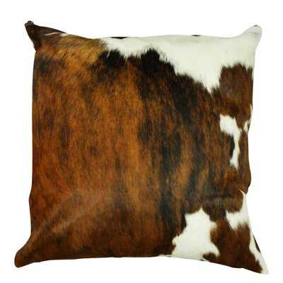 Amory Authentic Cowhide Throw Pillow Cover - Wayfair