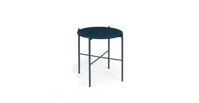 Silicus Navy Side Table - Article