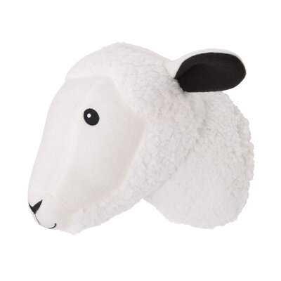 Plush Fleece Sheep Head Faux Taxidermy - Wayfair