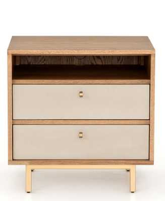 Panthea Nightstand, Cream - Lulu and Georgia