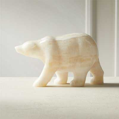 Stone Polar Bear - CB2